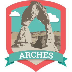 Arches National Park is home to over 2,000 majestic arches, including the famous Delicate Arch.