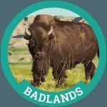 Badlands Badge