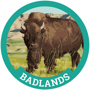 Planning a trip to Mount Rushmore? Don't miss the scenic beauty of Badlands National Park, just an hour and a half away!