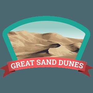Great Sand Dunes Badge