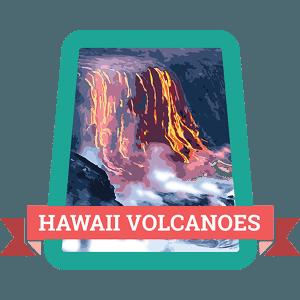Hawaii Volcanoes Badge
