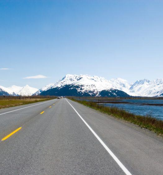 Highway to Seward, Alaska