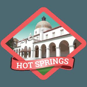 Hot Springs Badge