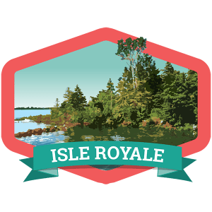Isle Royale Badge