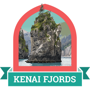 Kenai Fjords Badge