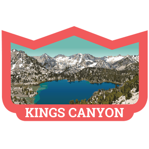 Kings Canyon Badge