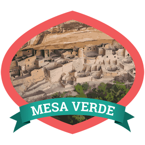 Mesa Verde Badge