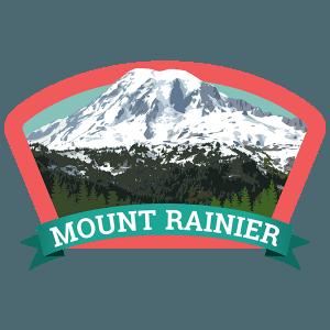 Mount Rainier Badge