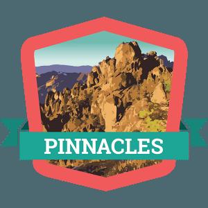 Pinnacles Badge