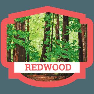 Redwood Badge
