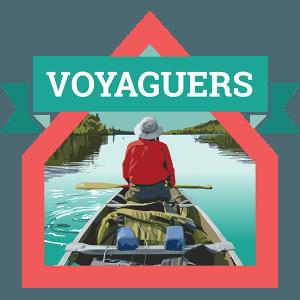 Voyaguers Badge