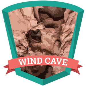 Wind Cave Badge