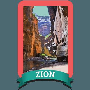 Zion Badge