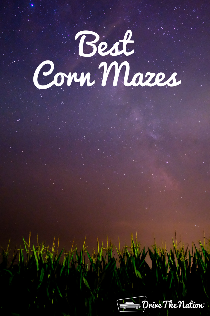 Get lost in one of these terrific corn mazes this fall!