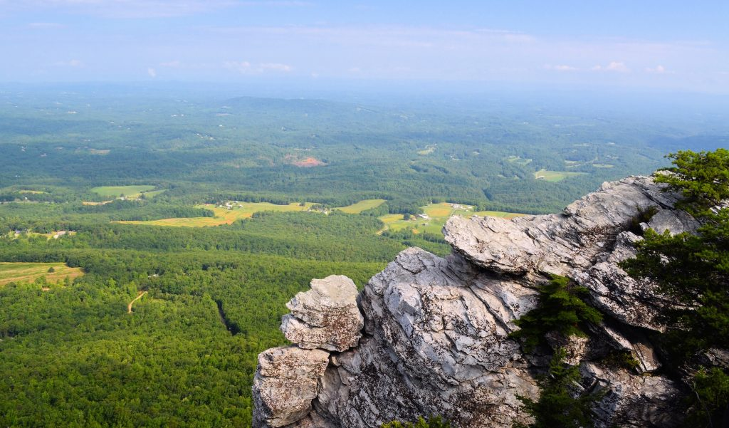 east coast destinations - Hanging Rock State Park North Carolina