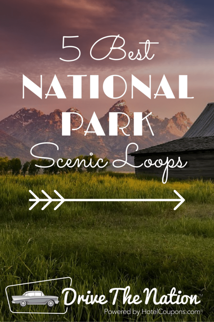 Some of our favorite national park scenic drives.
