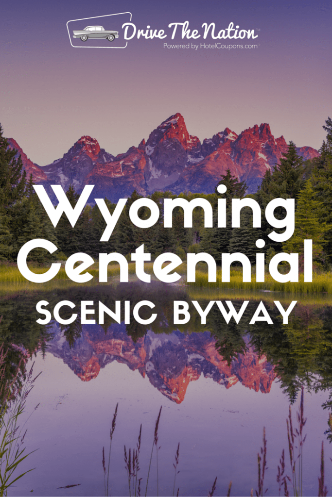 Drive the Wyoming Centennial Road to see the Tetons & more!