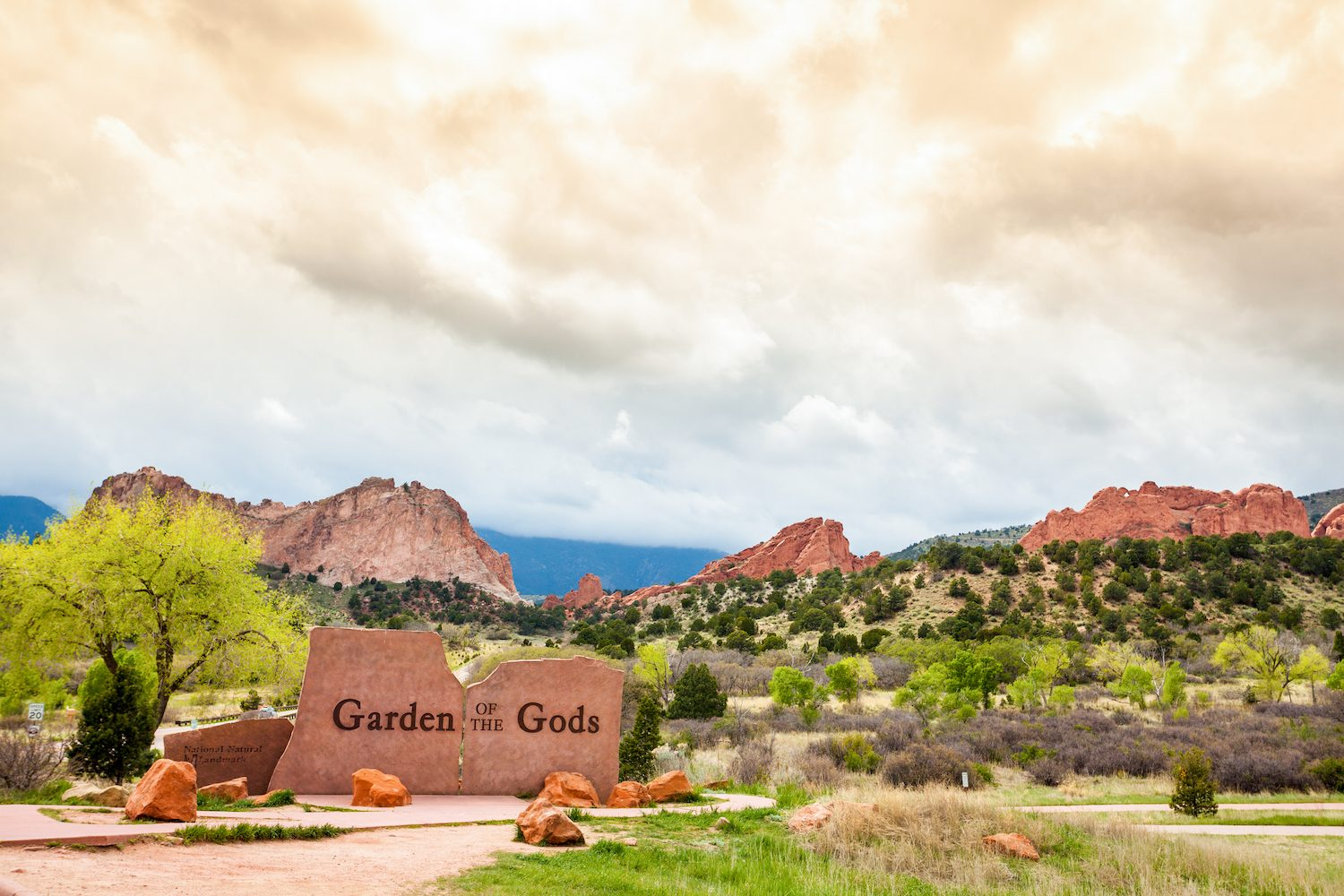 Garden of the Gods Colorado Springs CO USA