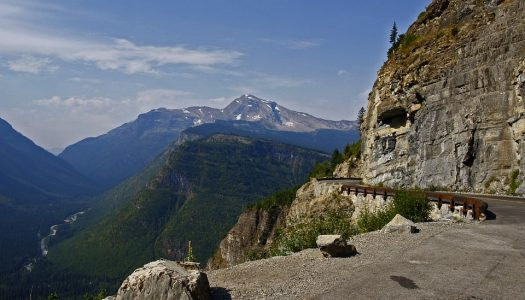 Travel Along the Going to the Sun Road