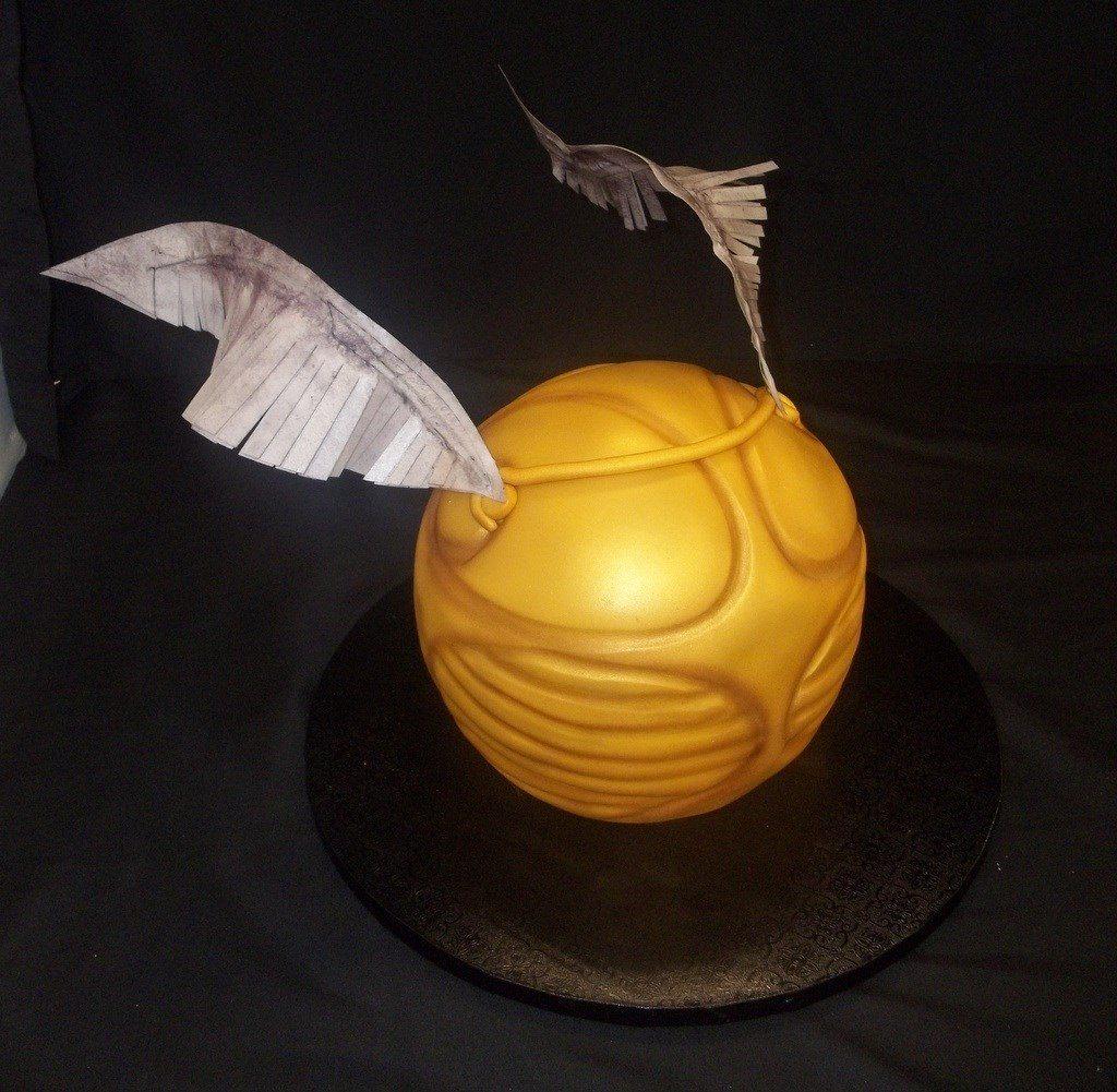 Snitch Cake