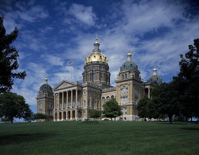 Capitol Building Des Moines