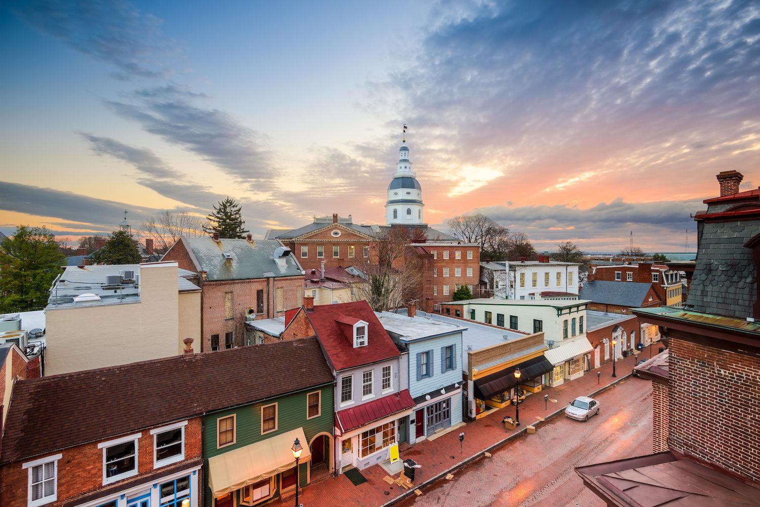 Quick guide to annapolis maryland drive the nation for Best small cities to live in colorado