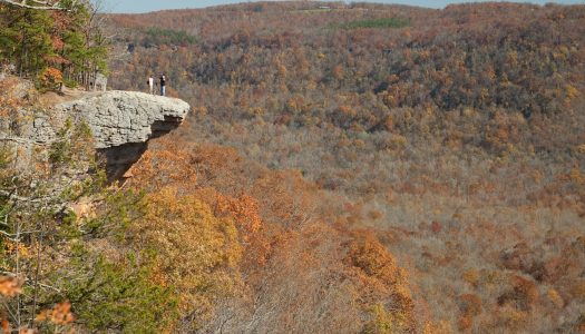 The Big Bluff Trail, AR