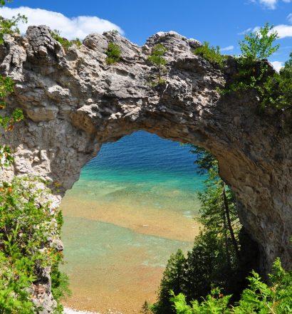 Arch Rock, Mackinac Island, MI