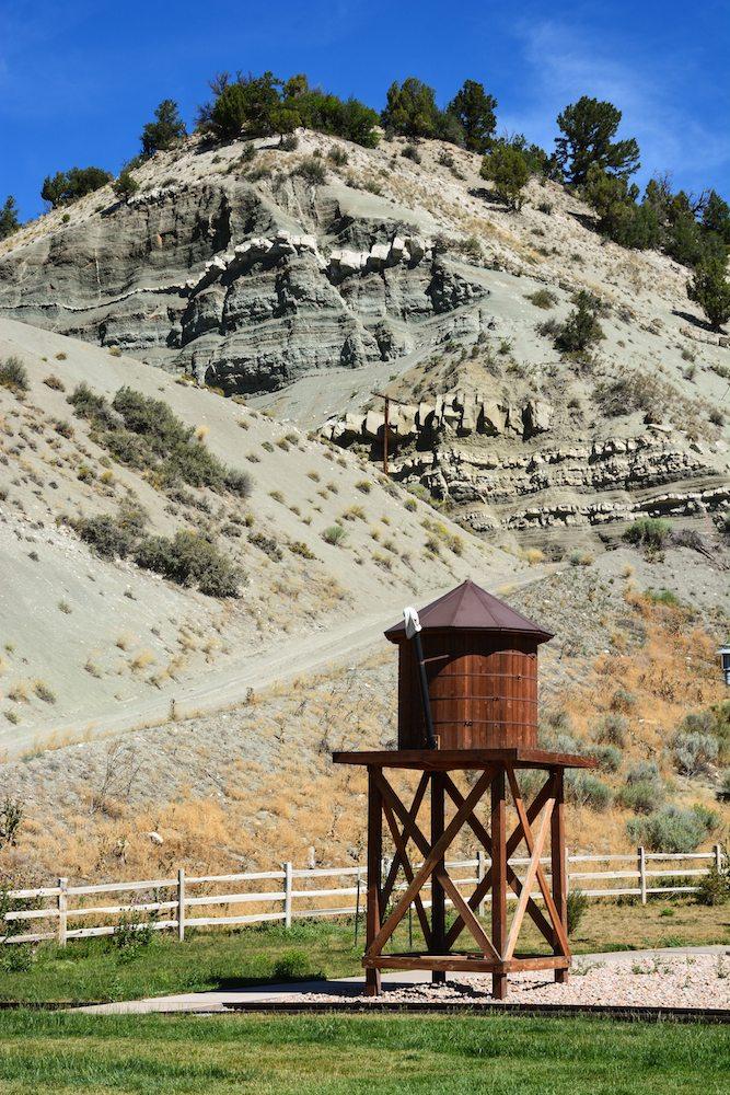 Tie Fork Rest Area Utah