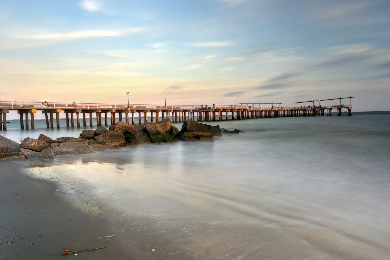 Coney Island Beach And Pier