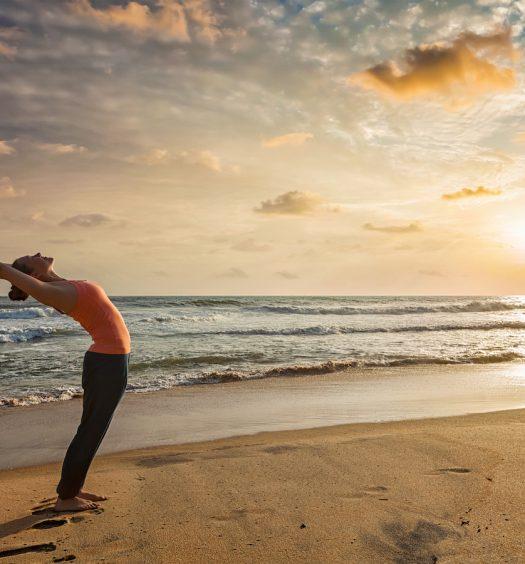 Yoga Sun Salutation Summer Solstice