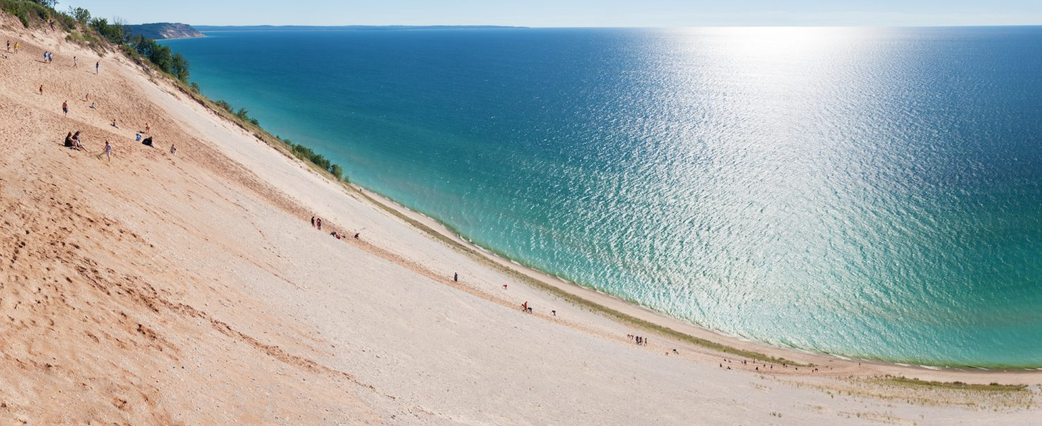 Beach Cities On Lake Michigan