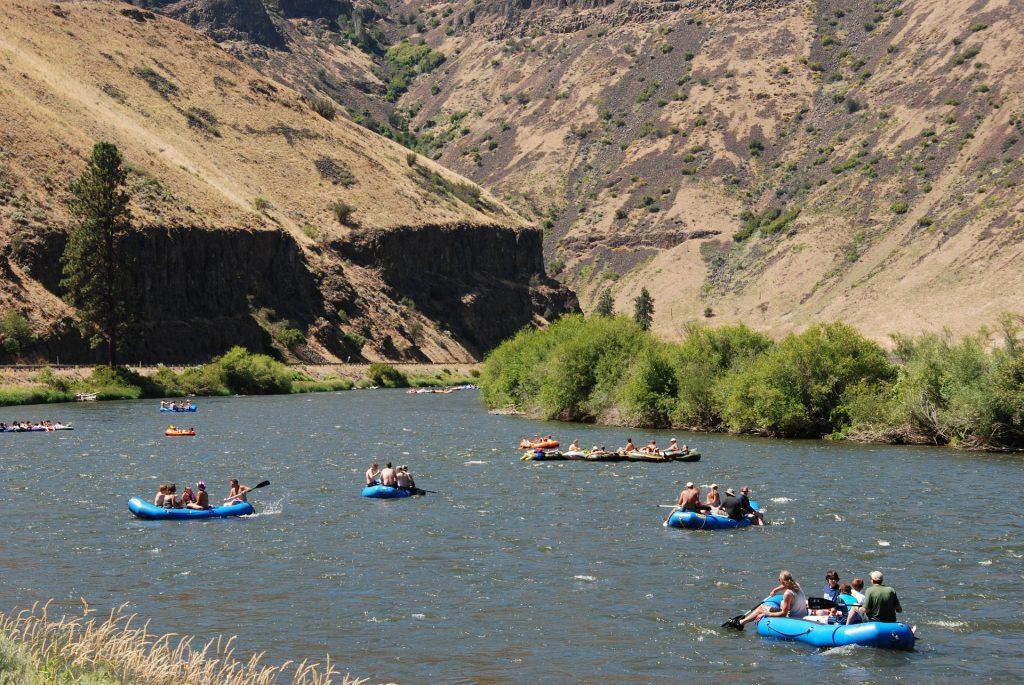 Tubing on the Yakima River