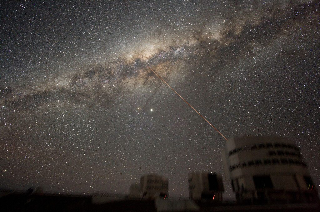 milky way photograph