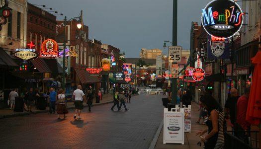 Explore Beale Street in Memphis