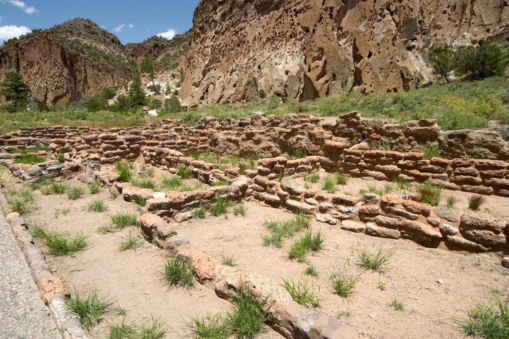 anasazi ruins in new mexico near los alamos