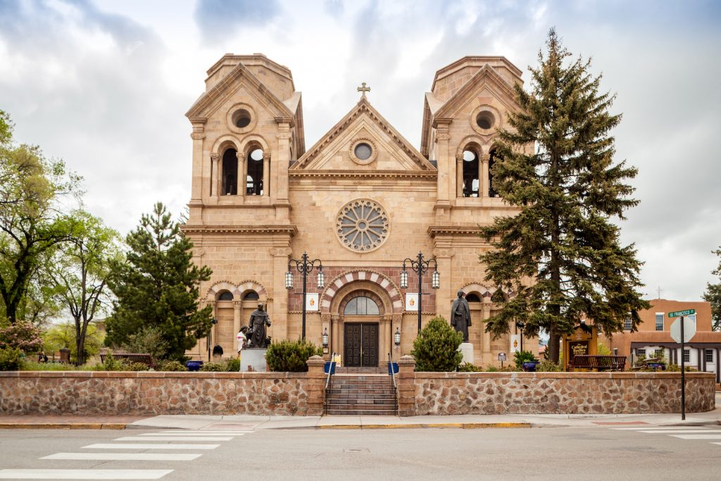 Cathedral Basilica of St. Francis of Assisi Cathedral Place Santa Fe Nowy Meksyk