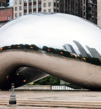 Cloud Gate at Millenium Park, Chicago