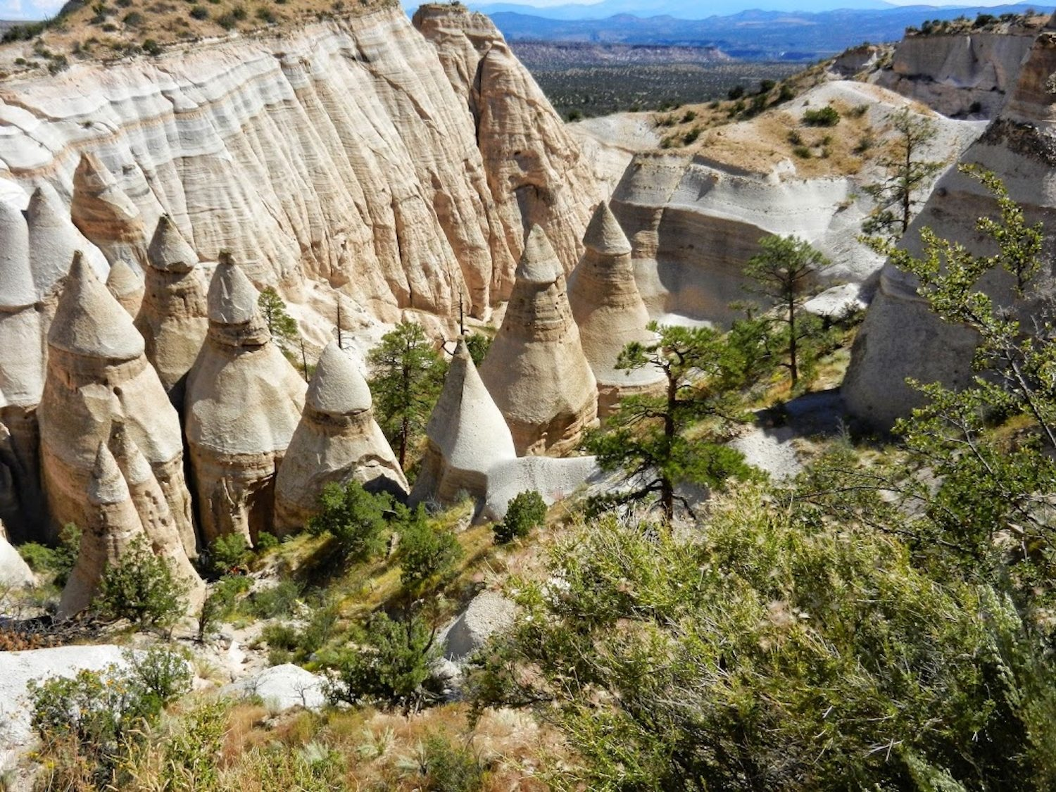 Kasha-Katuwe Tent Rocks National Monument in New Mexico