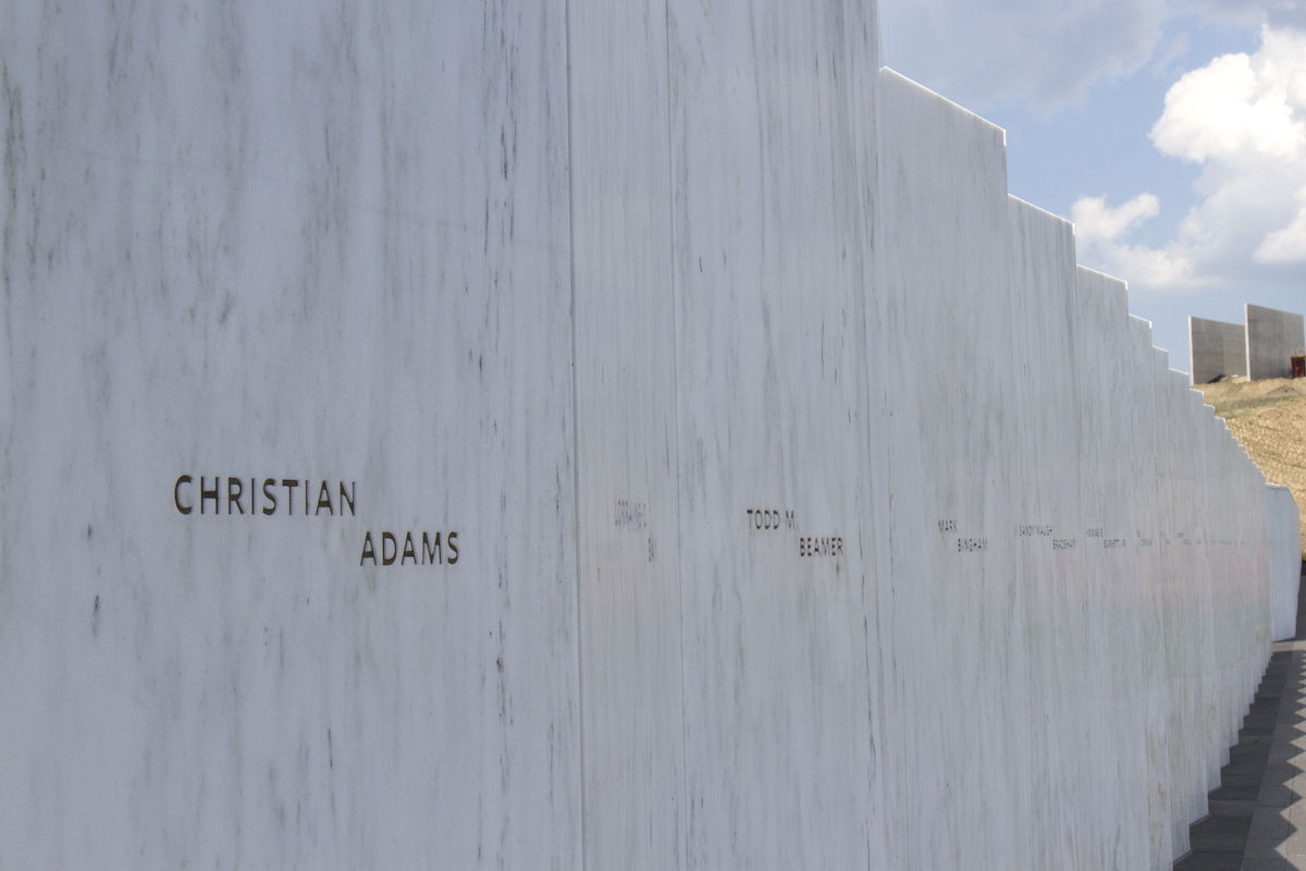 Wall Of Names, Flight 93 Memorial