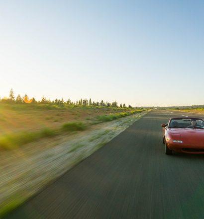 Roadtrip with a rental car