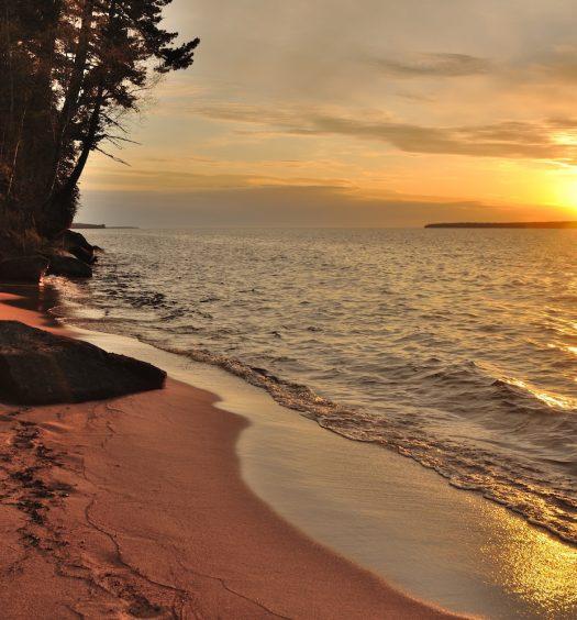 Apostle Islands National Seashore in Wisconsin