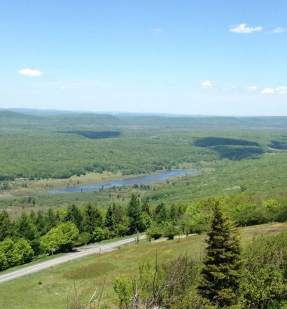 canaan valley panoramic view