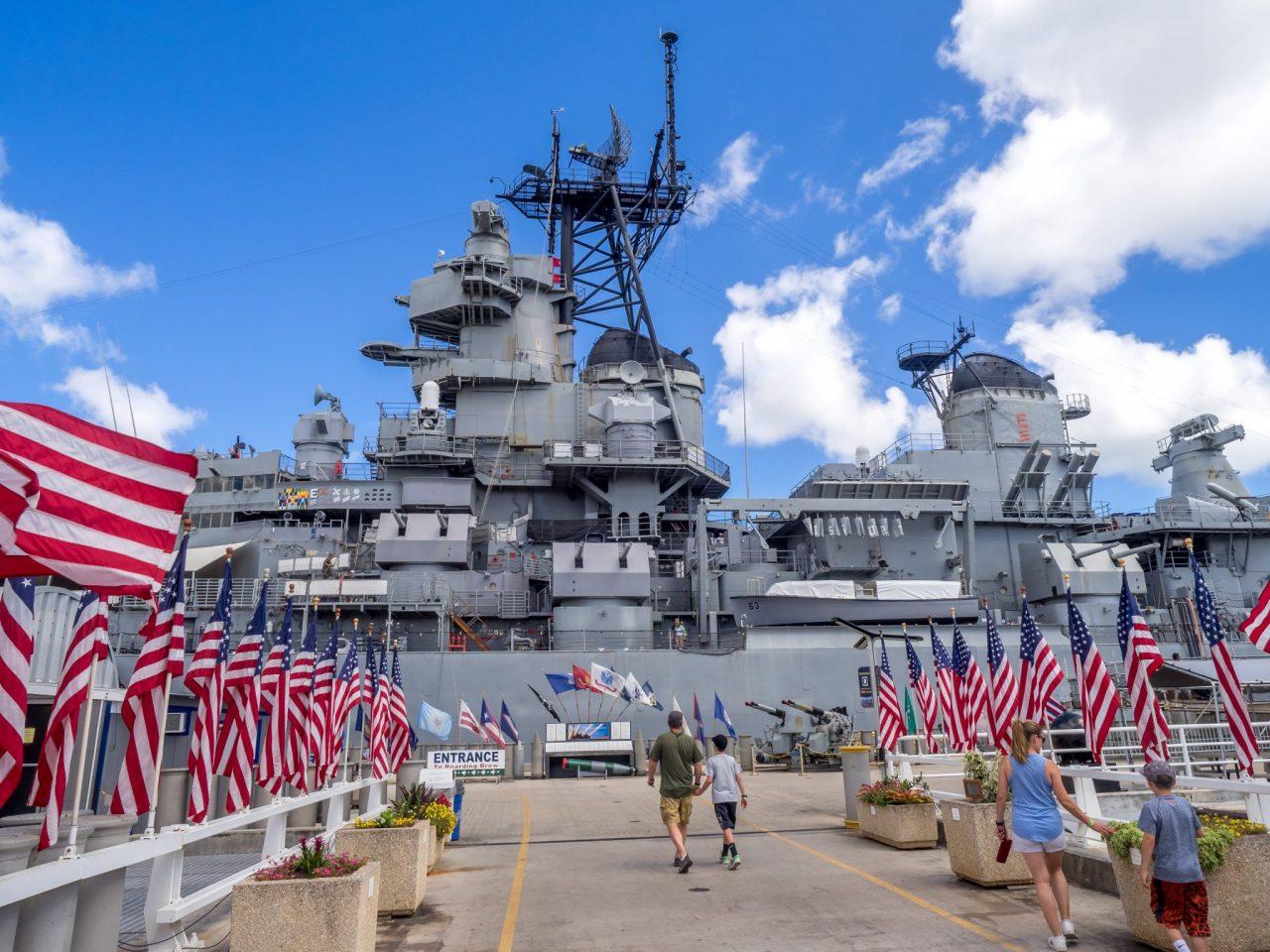 USS Missouri battleship pearl harbor