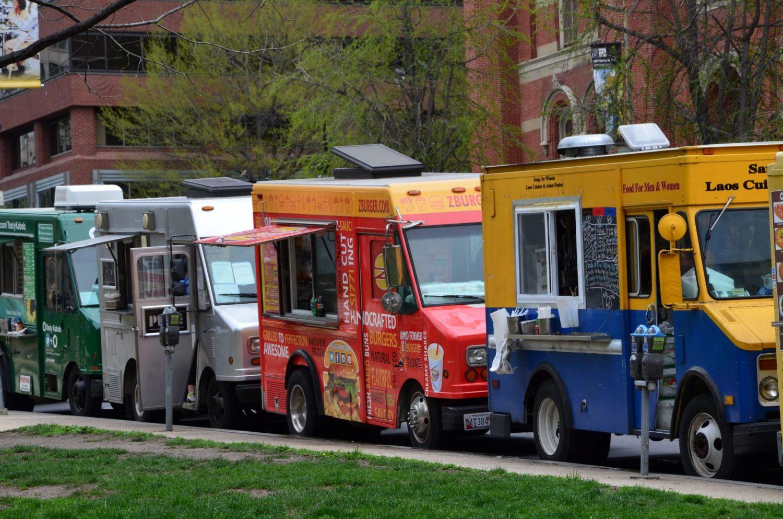 Food trucks in Washington