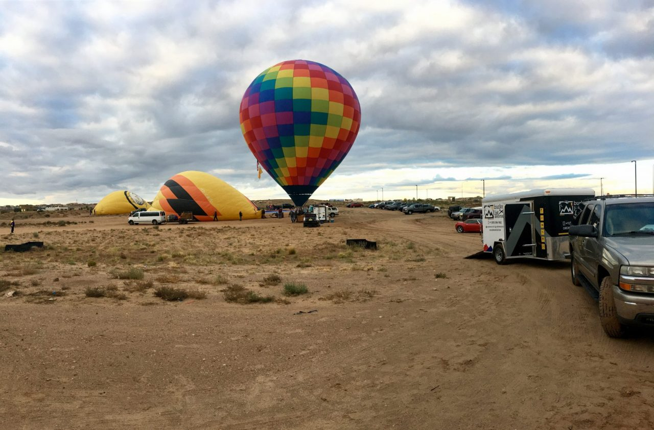 Hot air balloons in Albuquerque, NM / © Melissa Martinez