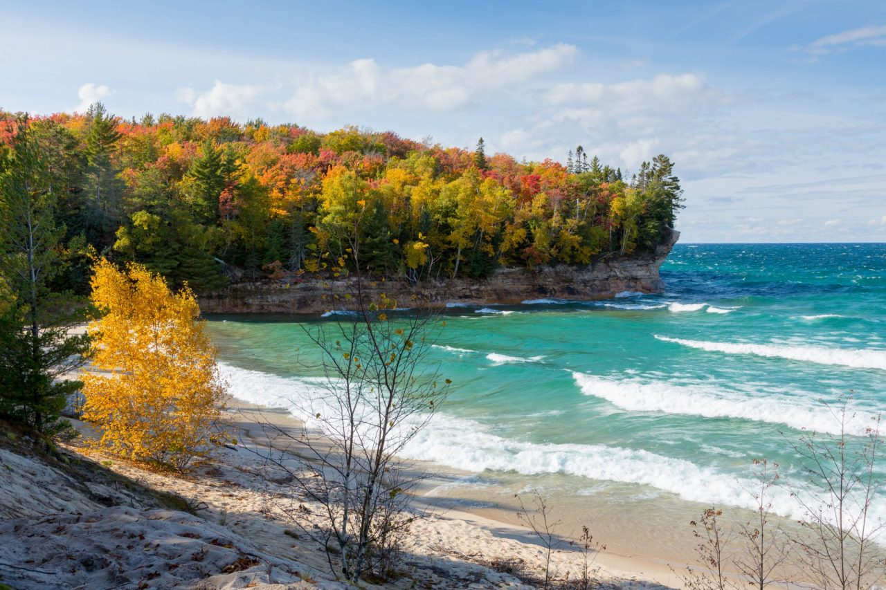 Chapel Beach at Pictured Rocks National Lakeshore