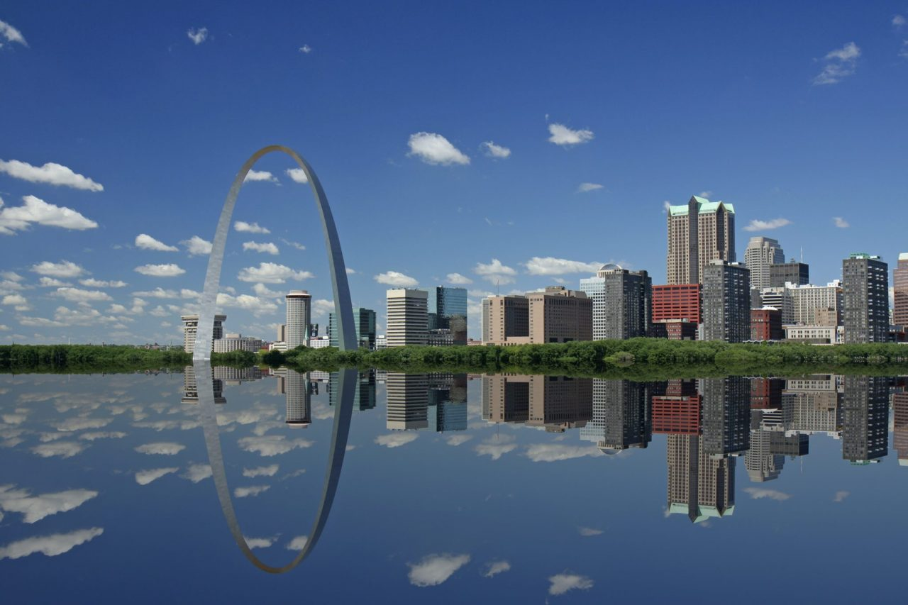 Gateway Arch In St Louis