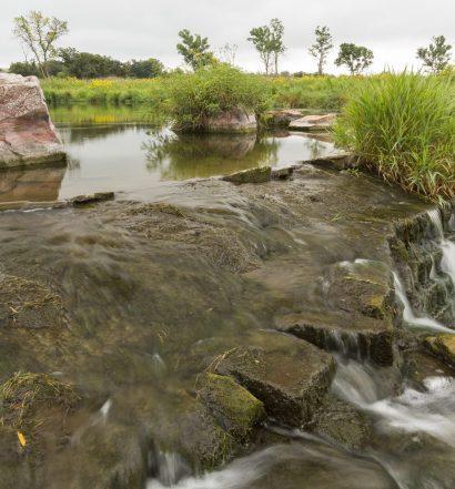 Lake Hiawatha at Pipestone national monument