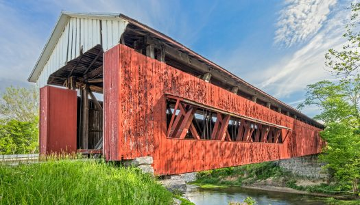 Parke County Covered Bridge Christmas